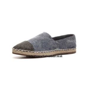 Steve Madden Blue and Gray Espadrilles